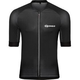 Gonso Cuvo Maillot de cyclisme Homme, black